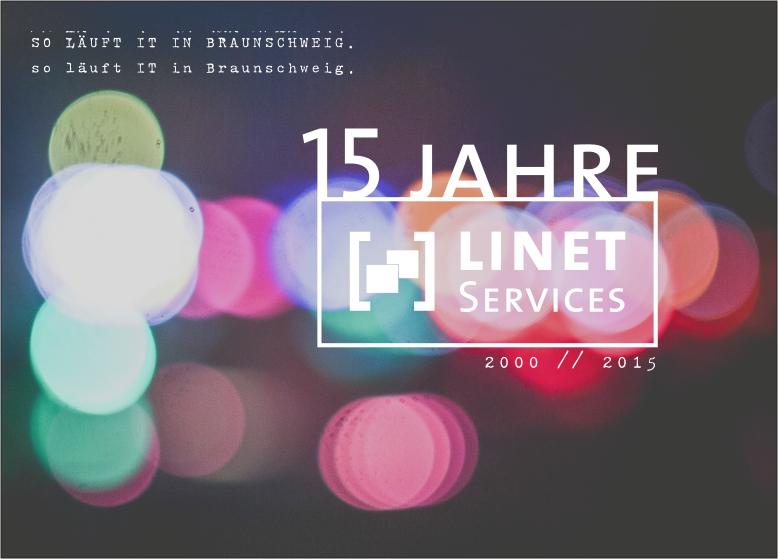 LINET Services feiert 2015 sein 15-jähriges Geschäftsjubiläum