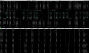 atop auf einem Proxmox Virtualisierungsserver