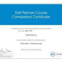 Franziska Obermayr, LINET Services, Zertifikat Dell KACE Sales Training
