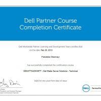 Franziska Obermayr, LINET Services, Zertifikat Dell Blade Server Solutions Technical