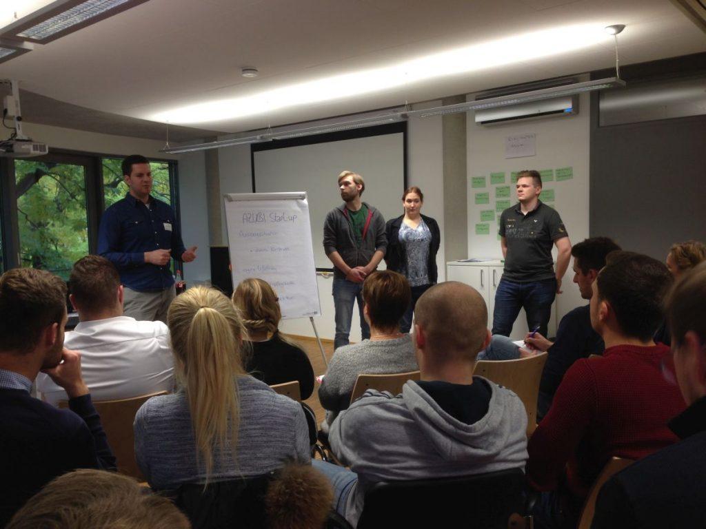 LINET Services beim GROUPLINK-Azubi-Bootcamp 2016