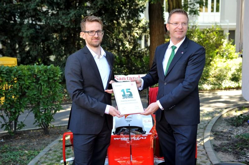 Systemhaus LINET Services beim Bitbone-Jubiläum in Würzburg