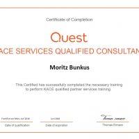 Moritz Bunkus, LINET Services, KACE Services Qualified Consultant
