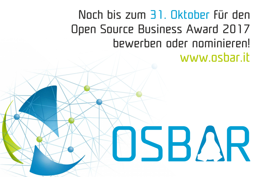 Innovative Ideen für den Open Source Business Award gesucht