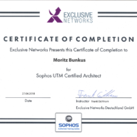 Moritz Bunkus Sophos UTM Certified Architect